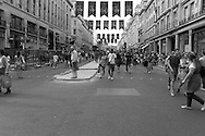 Regent Street, London. When closed to traffic<br />