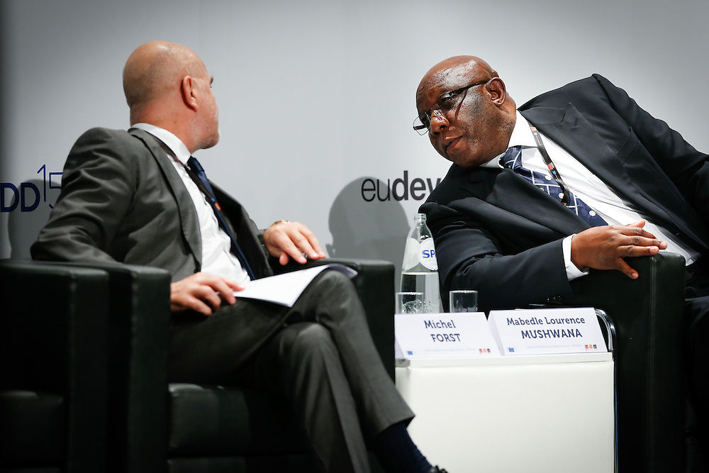 03 June 2015 - Belgium - Brussels - European Development Days - EDD - Human Rights - Sustainable Development Goal - What role for the National Human Rights Institutions? - Mabedle Lawrence Mushwana , Chairperson , International Coordinating Committee for National Human Rights Institutions - Michel Forst© European Union