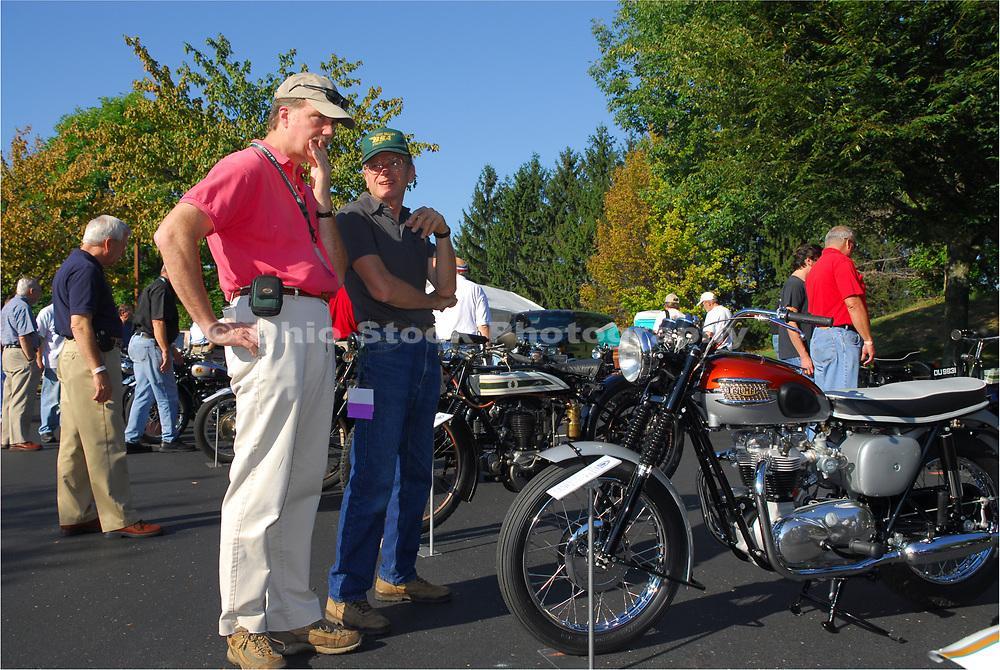 6th Annual Concours d' Elegance Motorcycle Show