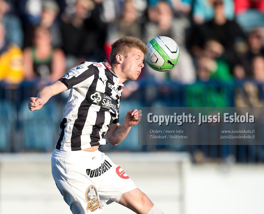 Petteri Pennanen. TPS - Inter. Veikkausliiga. Turku, 13.5.2013. Photo: Jussi Eskola