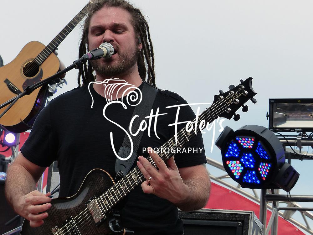 Brantley Gilbert, 25 May 2014, Coca-Cola 600, Charlotte Motor Speedway, Charlotte, North Carolina