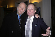 Ed Victor and David Campbell. Everyman's Centenary Party. The Fine Rooms. Royal Academy. London. 15 February 2006. dddONE TIME USE ONLY - DO NOT ARCHIVE  © Copyright Photograph by Dafydd Jones 66 Stockwell Park Rd. London SW9 0DA Tel 020 7733 0108 www.dafjones.com