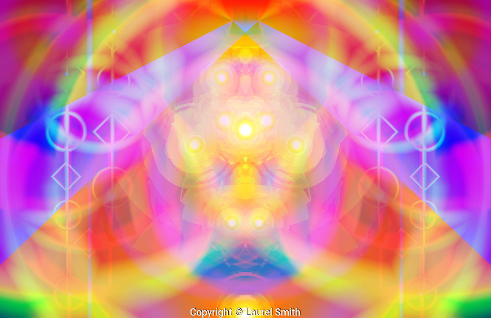 Pleiadian Light Portal ~ Part of a series of art which opens up a Pleiadian Light Portal. ~ <br />