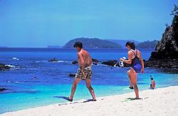 Costa Rica. 08/1997..Praia do Conchal / Conchal Beach..Foto © Marcos Issa/Argosfoto