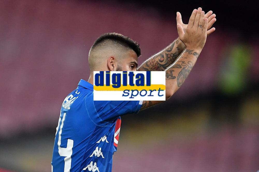 Lorenzo Insigne Napoli <br /> Napoli 15-09-2018 Stadio San Paolo Football Calcio Serie A 2018/2019 Napoli - Fiorentina <br /> Foto Andrea Staccioli / Insidefoto