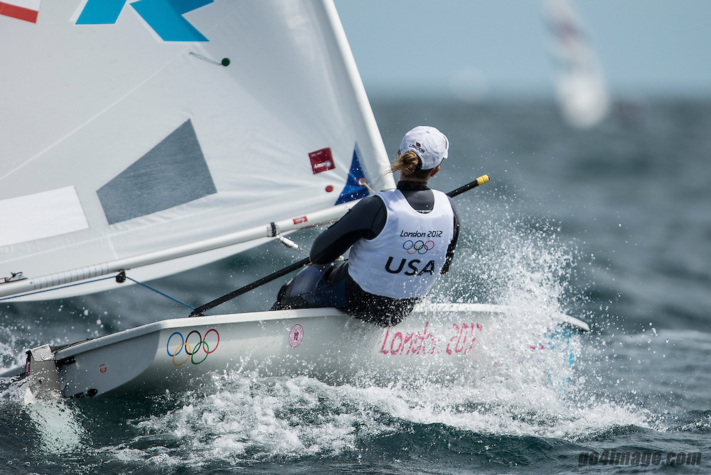 2012 Olympic Games London / Weymouth<br /> Racing day 1 Laser