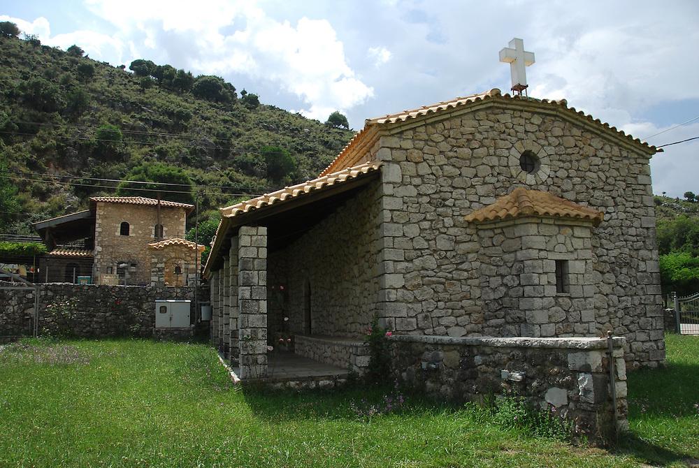 The church in Souli village. Thesprotia prefecture, Epirus region, Greece.