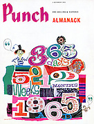 """Punch Almanack (Front cover, 4 November 1964"""