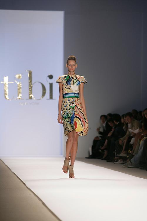Tibi<br /> Spring/Summer 2009 Collectin<br /> Mercedes-Benz Fashion Week<br /> New York, NY Sept 2008