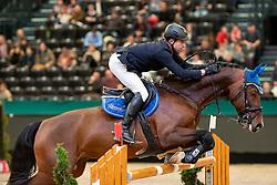 GRIESE Henrik (GER), ECL Corvo<br /> Leipzig - Partner Pferd 2019<br /> Eröffnungsspringen<br /> 17. Januar 2019<br /> © www.sportfotos-lafrentz.de/Stefan Lafrentz