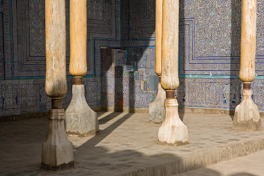 Summer mosque within Ark complex, Khiva
