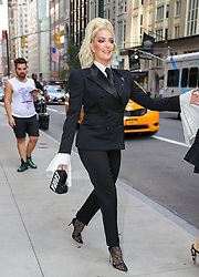 Erika Jayne seen wearing a black Tom Ford suit while heading to the CFDA awards in New York City. 04 Jun 2018 Pictured: Erika Jayne. Photo credit: ZapatA/MEGA TheMegaAgency.com +1 888 505 6342