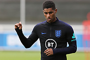England forward Marcus Rashford during the England training session at St George's Park National Football Centre, Burton-Upon-Trent, United Kingdom on 2 September 2019.