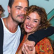 NLD/Amsterdam/20180819 - Premiere Blind Date, Katja Schuurman met Dinand Woesthoff