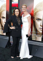 Katherine Heigl and Denise Di Novi at the Los Angeles premiere of 'Unforgettable' held at the TCL Chinese Theatre in Hollywood, USA on April 18, 2017.
