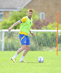 Bristol Rovers' Matt Harrold - Photo mandatory by-line: Joe Meredith/JMP - Tel: Mobile: 07966 386802 24/06/2013 - SPORT - FOOTBALL - Bristol -  Bristol Rovers - Pre Season Training - Npower League Two