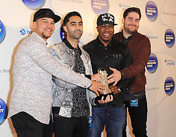 Mercury Prize. <br /> Rudimental attends the Barclaycard Mercury Prize at The Roundhouse, London, United Kingdom. Wednesday, 30th October 2013. Picture by i-Images
