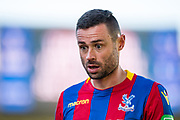Crystal Palace #27 Damien Delaney after the Premier League match between Crystal Palace and Tottenham Hotspur at Selhurst Park, London, England on 25 February 2018. Picture by Sebastian Frej.