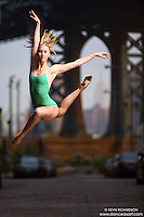 Dance As Art Streets of Dumbo Series with dancer Alyssa Ness