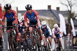 Kirsten Wild (NED) on the final lap at Healthy Ageing Tour 2019 - Stage 2, a 134.4 km road race starting and finishing in Surhuisterveen, Netherlands on April 11, 2019. Photo by Sean Robinson/velofocus.com