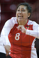 20121013 Drake Bulldogs v Illinois State Redbirds volleyball photos