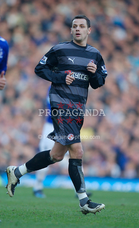 LIVERPOOL, ENGLAND - Saturday, February 9, 2008: Reading's Marek Matejovsky in action against Everton during the Premiership match at Goodison Park. (Photo by David Rawcliffe/Propaganda)