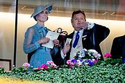 Koning Willem-Alexander en koningin Máxima hebben dinsdag in de koets met koningin Elizabeth en haar zoon prins Andrew deelgenomen aan de 'koninklijke optocht' op de racebaan van Ascot.<br /> <br /> King Willem-Alexander and Queen Máxima took part in the carriage with Queen Elizabeth and her son Prince Andrew on Tuesday in the 'royal parade' on the Ascot race track.<br /> <br /> Op de foto / On the photo: Catherine, hertogin van Cambridge / Catherine, Duchess of Cambridge