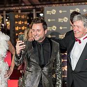 NLD/Amsterdam/20171012 - Televizier-ring Gala 2017, Nicolette kluijver, Dennis Weening en Bartho Braat