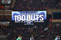 100e but Zlatan Ibrahimovic - 08.04.2015 - Paris Saint Germain / Saint Etienne - 1/2Finale Coupe de France<br /> Photo : WinterPress / Icon Sport