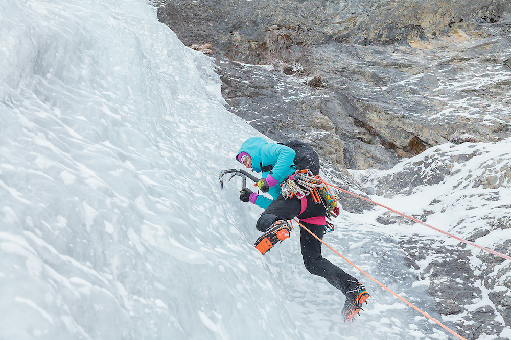 Ice Climbing Sorcerer - Vanessa and Sarah