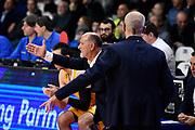 Giancarlo Sacco<br /> Openjobmetis Varese - Carpegna Prosciutto Basket Pesaro<br /> Basket Serie A LBA 2019/2020<br /> Varese 15 December 2019<br /> Foto Mattia Ozbot / Ciamillo-Castoria