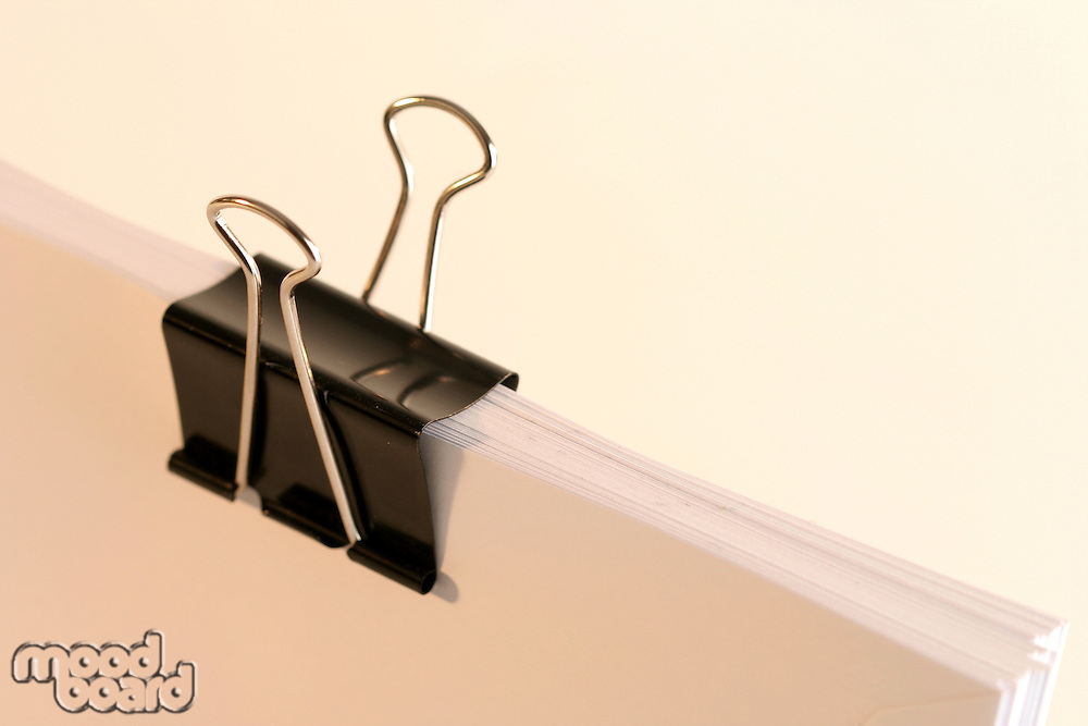 Paper clip - close up