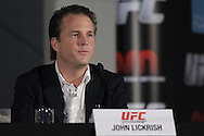 "ABU DHABI, UNITED ARAB EMIRATES, APRIL 7, 2010: John Lickrish is pictured during the pre-fight press conference for ""UFC 112: Invincible"" at the Rotana Hotel in Abu Dhabi on April 7, 2010. (Martin McNeil)"