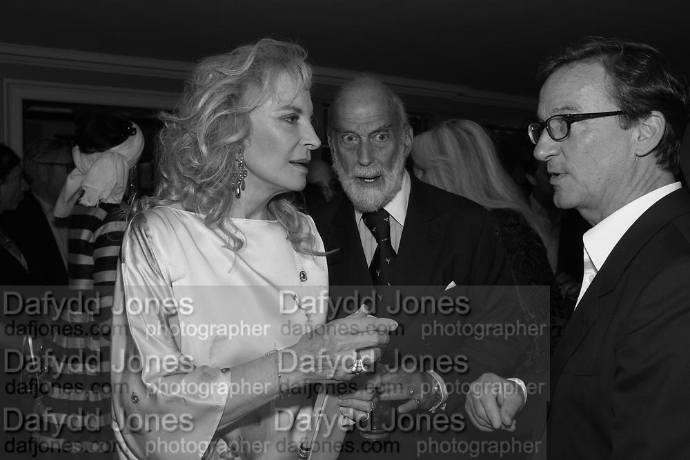 PRINCES MICHAEL OF KENT; PRINCE MICHAEL OF KENT; THADDEUS ROPAK, Robin Birley and Lady Annabel Goldsmith Summer Party. Hertford St. London. 5 July 2017