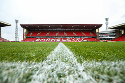 A general view of Oakwell Stadium, home of Barnsley - Mandatory by-line: Robbie Stephenson/JMP - 27/10/2018 - FOOTBALL - Oakwell Stadium - Barnsley, England - Barnsley v Bristol Rovers - Sky Bet League One
