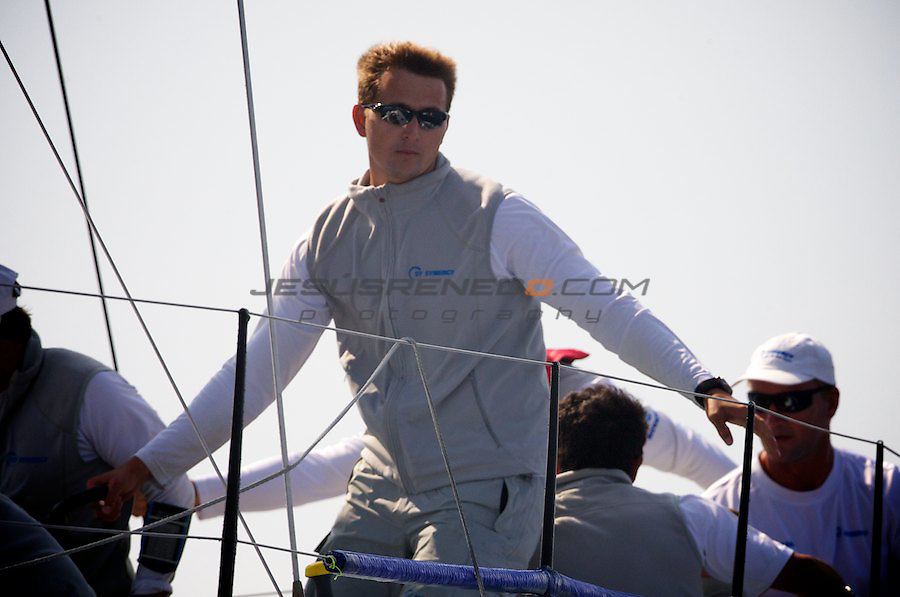 Audi Medcup circuit 2011,Marseille,second day of racing,Synergy helsman Evgeny Neugodnikov