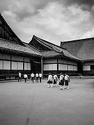 Temple visitors