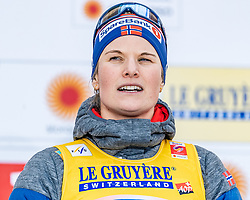 21.02.2019, Langlauf Arena, Seefeld, AUT, FIS Weltmeisterschaften Ski Nordisch, Seefeld 2019, Langlauf, Damen, Sprint, im Bild Bronzemedaillengewinnerin Mari Eide (NOR) // Bronce medalist Mari Eide of Norway during the ladie's Sprint competition of the FIS Nordic Ski World Championships 2019. Langlauf Arena in Seefeld, Austria on 2019/02/21. EXPA Pictures © 2019, PhotoCredit: EXPA/ Stefan Adelsberger