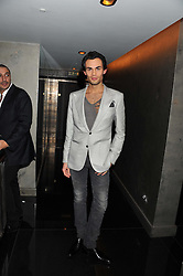 MARK-FRANCIS VANDELLI at a party to celebrate 41 years of the Farm Club in Verbier held at Club Nouveau, The Arts Club, Dover Street, London on 16th November 2011.