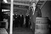 26/09/1962<br /> 09/26/1962<br /> 26 September 1962<br /> Opening of Earl Bottlers Ltd. at South Earl Street, Dublin. Minister for Justice Charles Haughey opened the new premises that produced Sandyman port. Mr Haughey addressing the gathering with directors of the company in background.