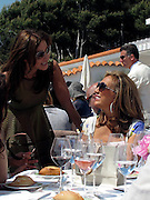**EXCLUSIVE**.Ella Krasner and Denise Rich..Ella Krasner's Lunch to Benefit AMEND..Sponsored by David Morris..2010 Cannes Film Festival..Hotel Du Cap..Cap D'Antibes, France..Monday, May 17, 2010..Photo ByCelebrityVibe.com.To license this image please call (212) 410 5354; or Email:CelebrityVibe@gmail.com ;.website: www.CelebrityVibe.com.