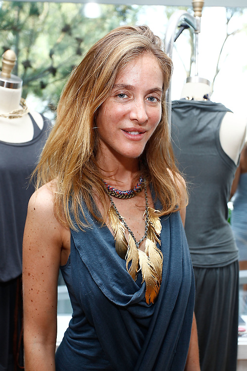 SAG HARBOR, NY - JULY 24:  Jewelry designer Aurelie Bidermann  attends the cocktail party for the launch of Aurelie Bidermann's Capsule Collection at Urban Zen on July 24, 2010 in Sag Harbor, New York.  (Photo by Joe Kohen/Getty Images for Aurelie)