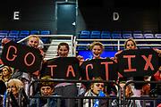 Fans during the ANZ Premiership Netball match, Tactix V Magic, Horncastle Arena, Christchurch, New Zealand, 6th June 2018.Copyright photo: John Davidson / www.photosport.nz