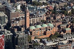 © Licensed to London News Pictures. 26/04/2016. London, UK. Westminster Cathedral, Ambrosden Ave. Photo credit: Martin Apps/LNP
