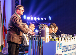 04.03.2017, AUT, FPÖ, 32. Ordentlicher Bundesparteitag, im Bild Klubobmann Christian Leyroutz //  at the 32nd Ordinary Party Convention of the Freiheitliche Partei Oesterreich (FPÖ) in Klagenfurt, Austria on 2017/03/04. EXPA Pictures © 2017, PhotoCredit: EXPA/ Wolgang Jannach