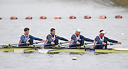 Caversham. Berkshire. UK<br /> <br /> 2016 GBRowing European Team Announcement,  <br /> GBR M4X, bow, Angus GROOM, Sam TOWNSEND, Greame THOMAS and Peter LAMBERT.<br /> Wednesday  06/04/2016 <br /> <br /> [Mandatory Credit; Peter SPURRIER/Intersport-images]