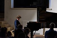 Alessano, 3 agosto 2019. Nikolay Khozyainov in concerto presso Palazzo Sangiovanni in occasione del Festival Internazionale di Musica Classica Muse Salentine.