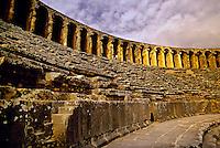 Roman Aqueduct, Aspendos, Turkey