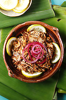 Cochinita pibil/ Pibil shredded pork