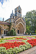 Church of Jak, Vajdahunyad Castle, City Park, Budapest, Hungary